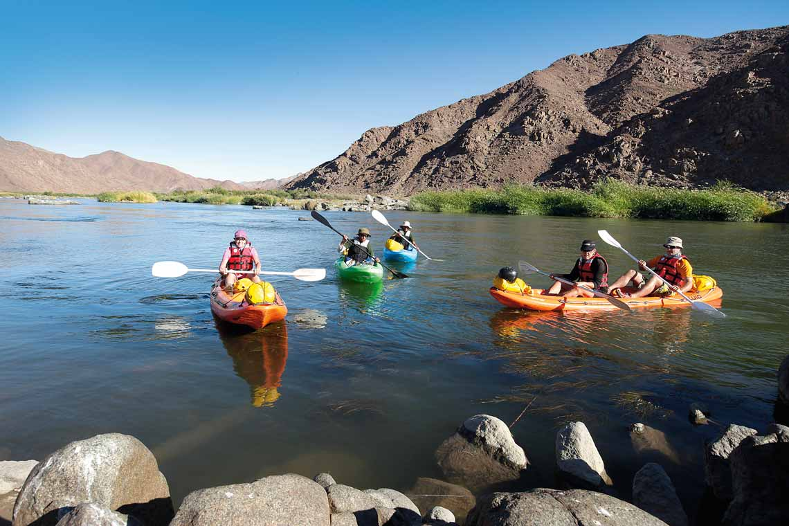 You don't have to be a pro kayaker to take part in this trip. Photo credit Shaen Aedy.